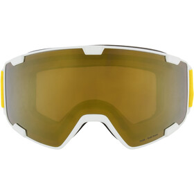 Red Bull SPECT Park Lunettes de protection, white/gold snow